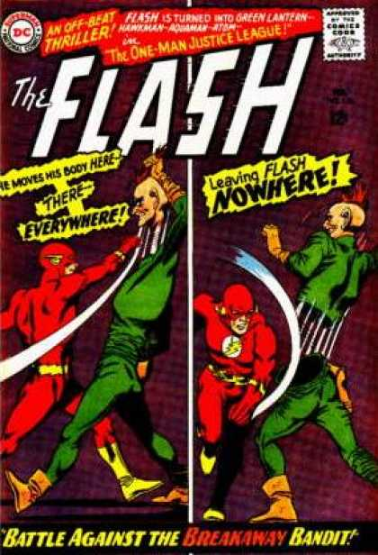 The Flash (1959) 158 - Thriller - The One Man Justice League - Everywhere - Nowhere - Breakaway