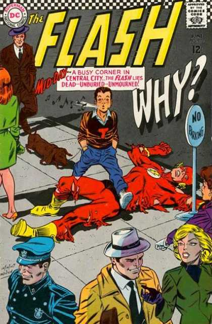 The Flash (1959) 171 - The Pictures Of The Comic Cover Doesnt Show Up