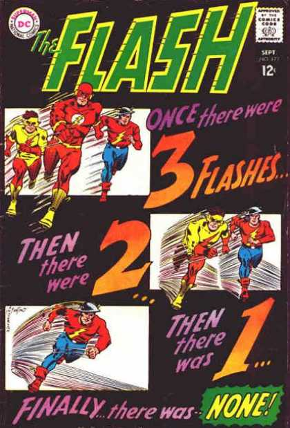 The Flash (1959) 173 - Three - Two - One - None - Finally