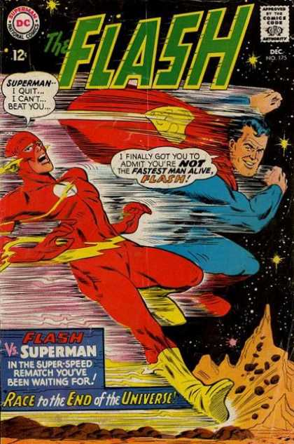 The Flash (1959) 175 - Superman - Race To The End Of The Universe - No 125 - Space - Cape