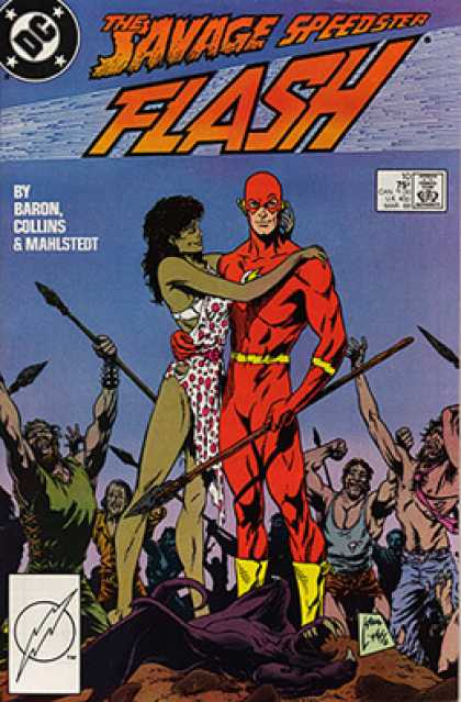 The Flash 10 - Baron - Collins - Mahlstedt - Red Man - The Cracker
