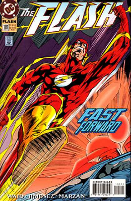 The Flash 101 - Dc - Costume - Superhero - Fast Forward - Waid Jimenez Marzan