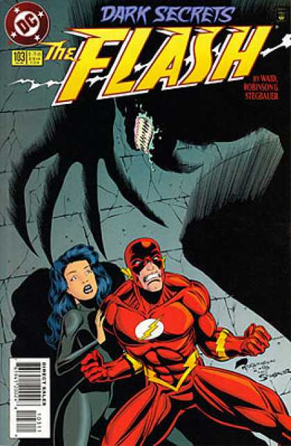The Flash 103 - Dark - Monster - Muscles - Teeth - Shadow