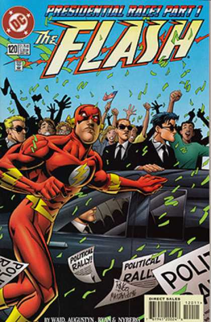 The Flash 120 - Politics Rally - Presidential Rally Part 1 - Red Eye Mask - Sunglasses - Flags
