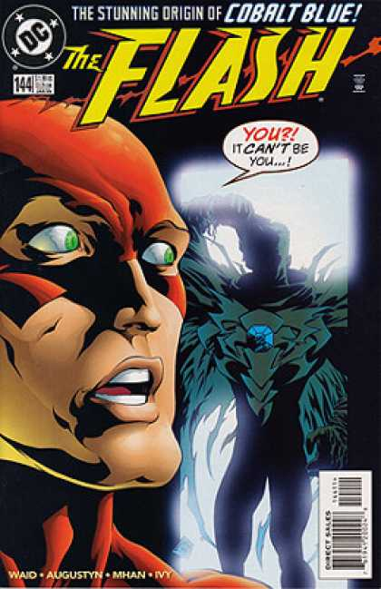 The Flash 144 - Surprise - Red Mask - Cobalt Blue - Mystery - Revealing
