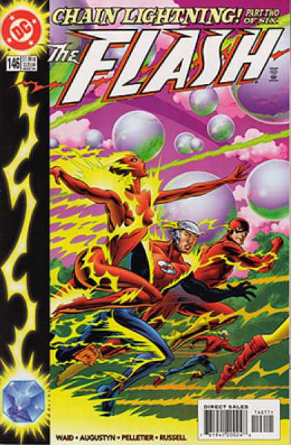 The Flash 146 - Chain - Light - Flash - Daimond - Fire