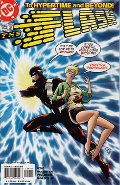 The Flash 159 - To Hypertime And Beyond - Blonde Girl - Thats A Proposal - Its Time For Me To Return - If You Love Meyoull Come With Me
