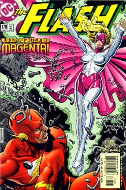The Flash 170 - Dc - Magenta - Metal - Star - Nuts And Bolts