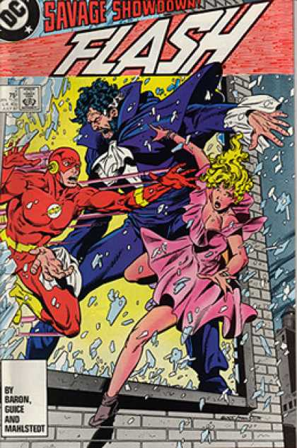 The Flash 2 - Dc - Savage Showdown - Approved By The Comics Code Authority - Baron - Guice