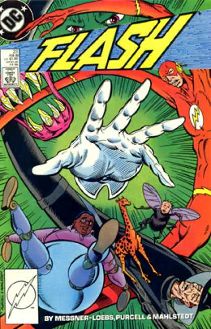 The Flash 23 - Green Eyes - Purcell - Hand - Human Bee - Sharp Teeth