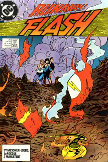 The Flash 25 - Flash - Run Away - Lighening - Messner Loebs - Runaway Flash