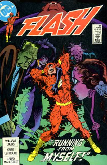 The Flash 27 - William Loebs - Greg Larocque - Larry Mahlstedt - 27 - Running From Myself