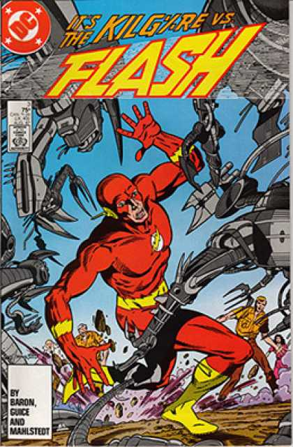 The Flash 3 - Battle - Superheroe - Mutant - Robots - People