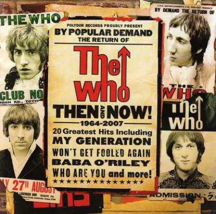 The Who - The Who - Then And Now! 1964-2007
