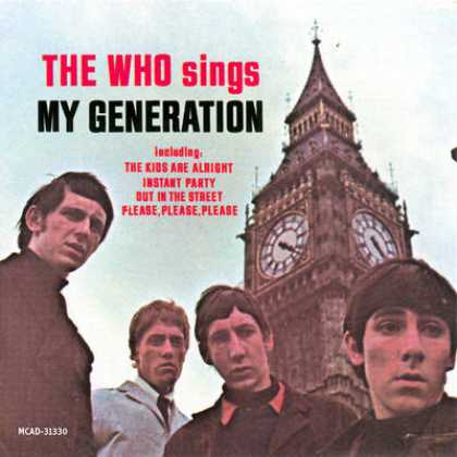 The Who - Who - The Who Sings My Generation
