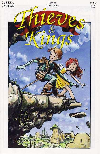 Thieves & Kings 17 - May No17 - Cliff - Boy And Girl - Falling Rocks - I Box