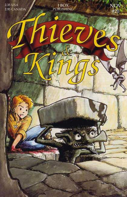Thieves & Kings 20 - Nov 20 - 235 Usa - 295 Canada - I Box Publishing - Stone