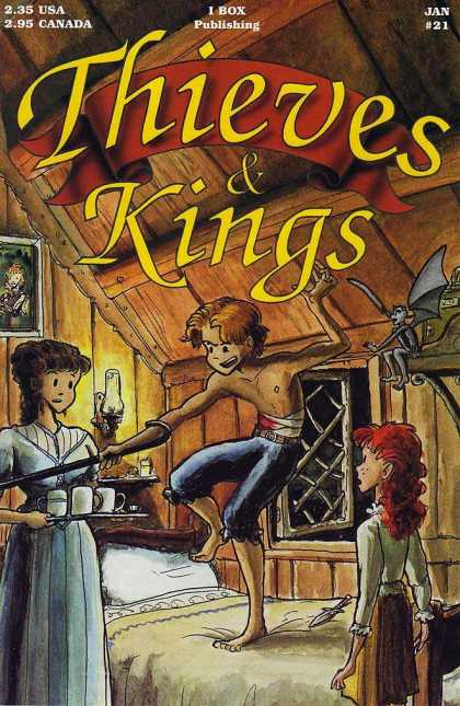 Thieves & Kings 21 - Cane - Cups Of Tea - Bandaged Boy - Bed - Wooden House