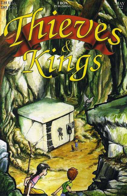 Thieves & Kings 22 - Boy - Girl - Dog - Key - Padlock