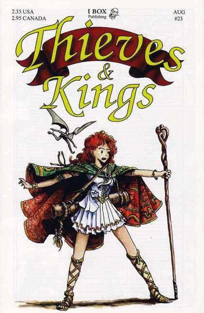 Thieves & Kings 23 - Role Playing - Medieval - Rogues - Girl Thief - Royalty