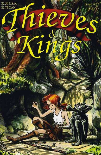 Thieves & Kings 27 - Girl - Blade - Devil - Forest - Issue27 May