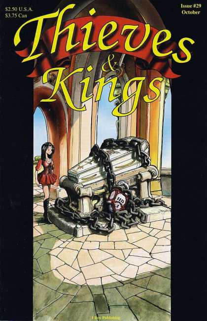 Thieves & Kings 29 - Chained Hearts - Lady Of Red - Broken Vows - Vision Of Red Sorrow - Red Caskets
