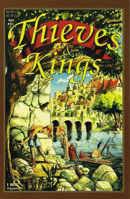 Thieves & Kings 31 - Boy - Girl - Castle - Tree - Water