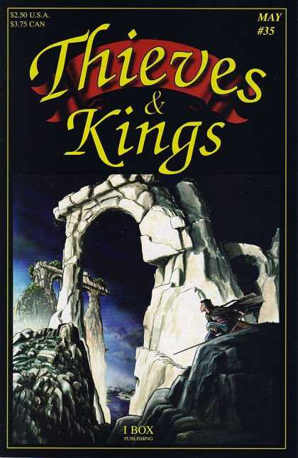 Thieves & Kings 35 - Rock - Stones - Structures - Night - Thief