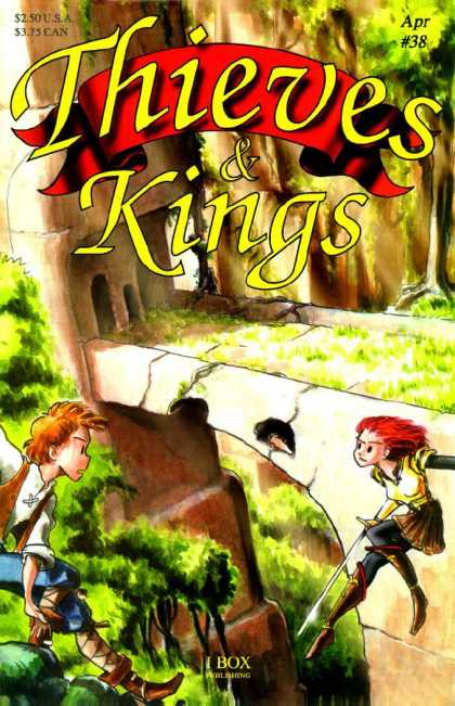 Thieves & Kings 38 - Medieval - Trees - Bridge - Archway - Sword