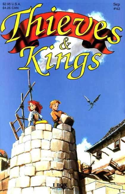 Thieves & Kings 42 - Castle - Build - Ladder - Sky - Gaze