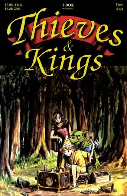 Thieves & Kings 43 - Forest - Trees - Girl - Boy - Goblin
