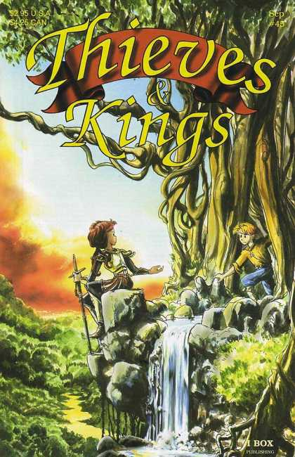 Thieves & Kings 45 - Kids - Sword - Waterfall - Forest - Kingdom