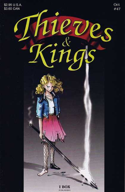 Thieves & Kings 47 - 47 - October - Girl - Torn Skirt - Sword