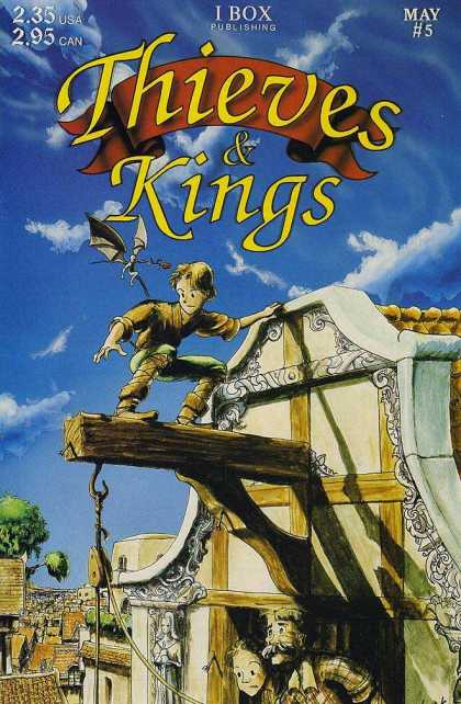 Thieves & Kings 5 - Ibox - Fantasy - Dragon - Town - Boy