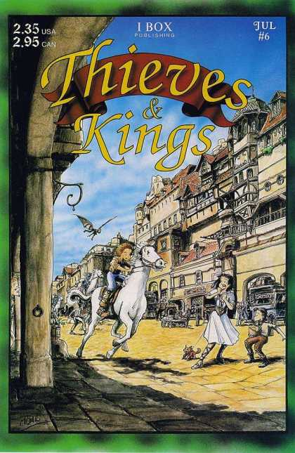 Thieves & Kings 6 - I Box - White Horse - Small Dog - Flying Monkey - Street