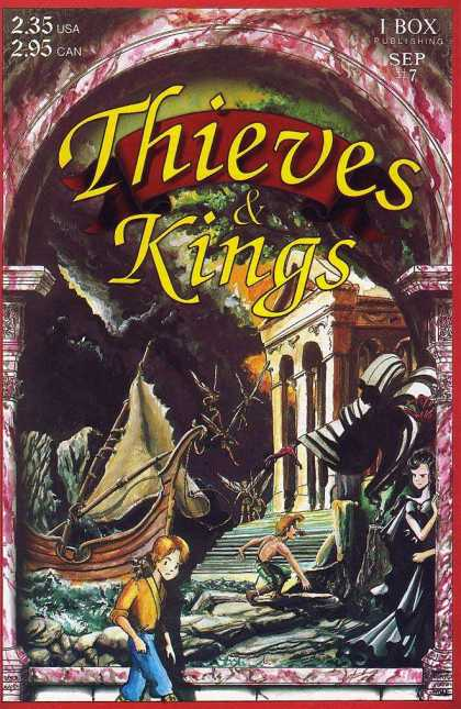 Thieves & Kings 7 - Thieves U0026 Kings - Children - Boat - Stairs - Archway