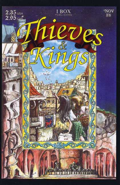 Thieves & Kings 8 - 1 Box Publishing - Village - Circular Staircase - Sky - November