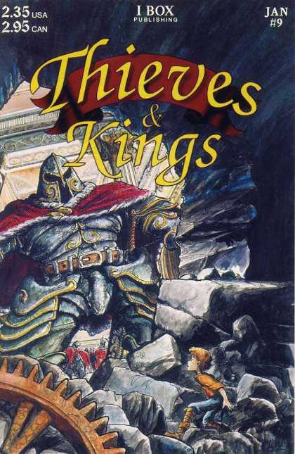 Thieves & Kings 9 - January - I Box Publishing - Armor - Helmet - Rocks