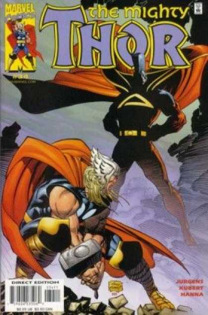 Thor (1998) 34 - Marvel - Hammer - Superhero - Juudgens Hubert Hanwa - Direct Edition - Andy Kubert