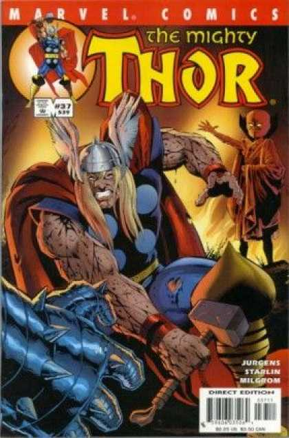Thor (1998) 37 - Someone Watching - Jurgens - Starlin - Hammer - Milgrom