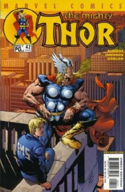 Thor (1998) 42 - Only Members Of Staff Allowed Up Here Sir - Im Not Talking To You - A Gods Eye View - Where Has The Rainbowgone - Its Over There Somewhere - Tom Raney