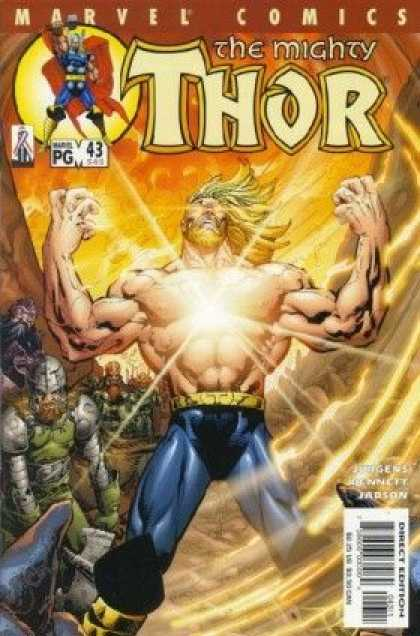 Thor (1998) 43 - Marvel - Superhero - Vikings - Muscles - Blonde - Tom Raney