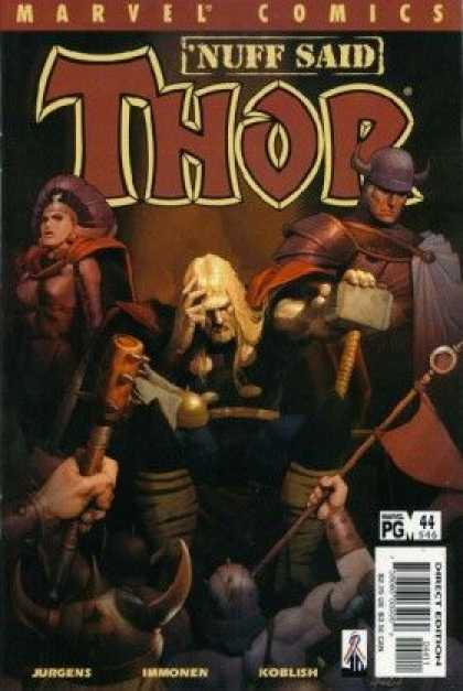 Thor (1998) 44 - Nuff Said - Marvel - Jurgens - Koblish - Immonen