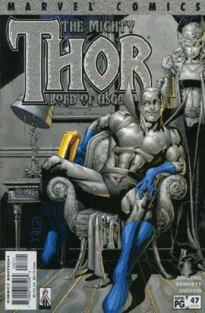 Thor (1998) 47 - Marvel Comics - The Mighty - Direct Edition - Jadson - Chair - Tom Raney