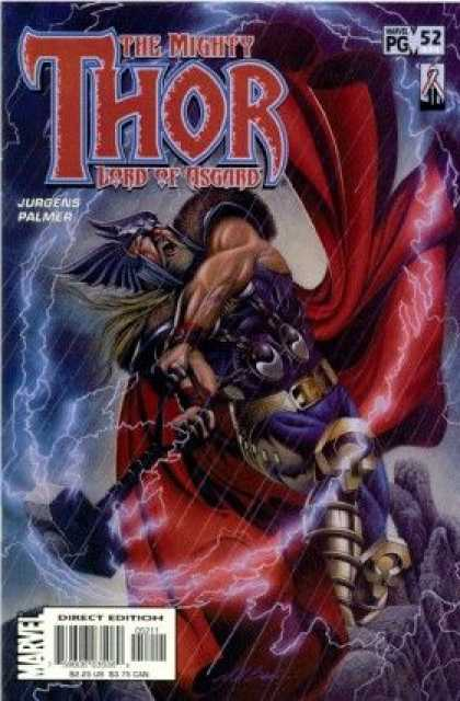Thor (1998) 52 - Mythology - Greek - Swords - Strong - Bold