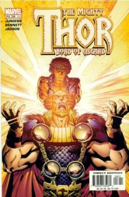 Thor (1998) 56 - Lord Of Asgard - Light - Armour - Cloak - Fur