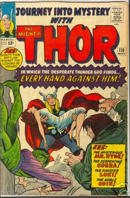 Thor 110 - Cobra - Loki - Mr Hyde - Odin - Journey Into Mystery