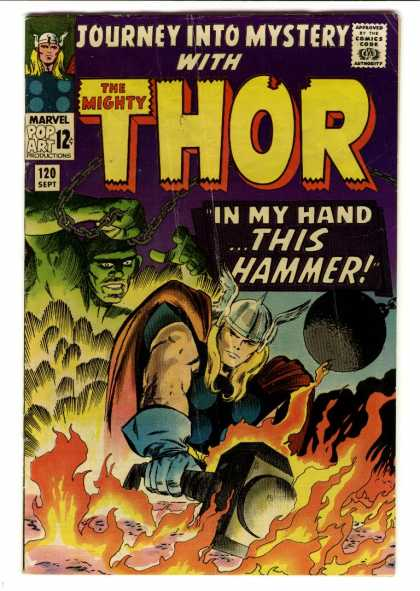 Thor 120 - Hammer - Journey - Mystery - The Mighty - Hand