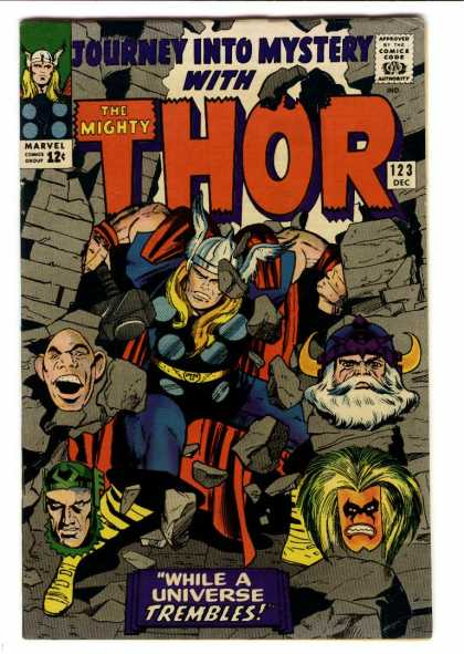 Thor 123 - Marvel - 123 - Dec - Journey Into Mystery - While A Universe Trembles