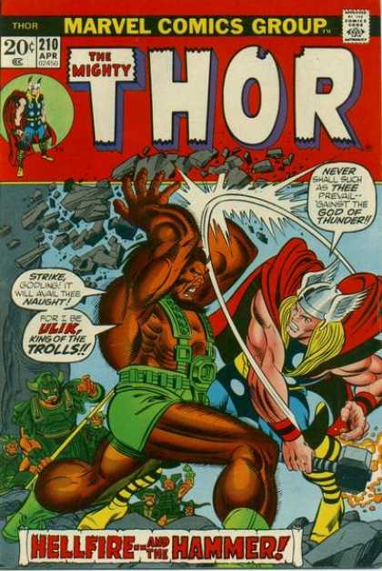 Thor 210 - Fight - Ulik - Troll